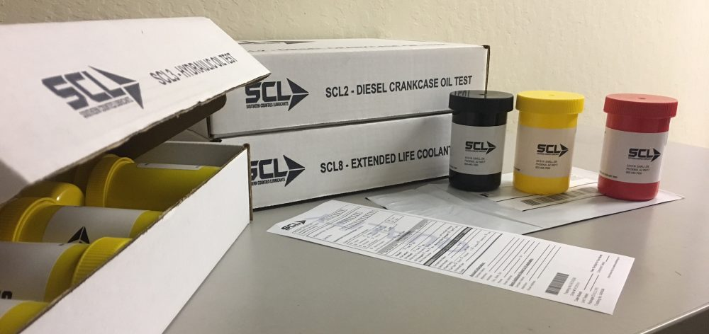 Oil Analysis Shipping
