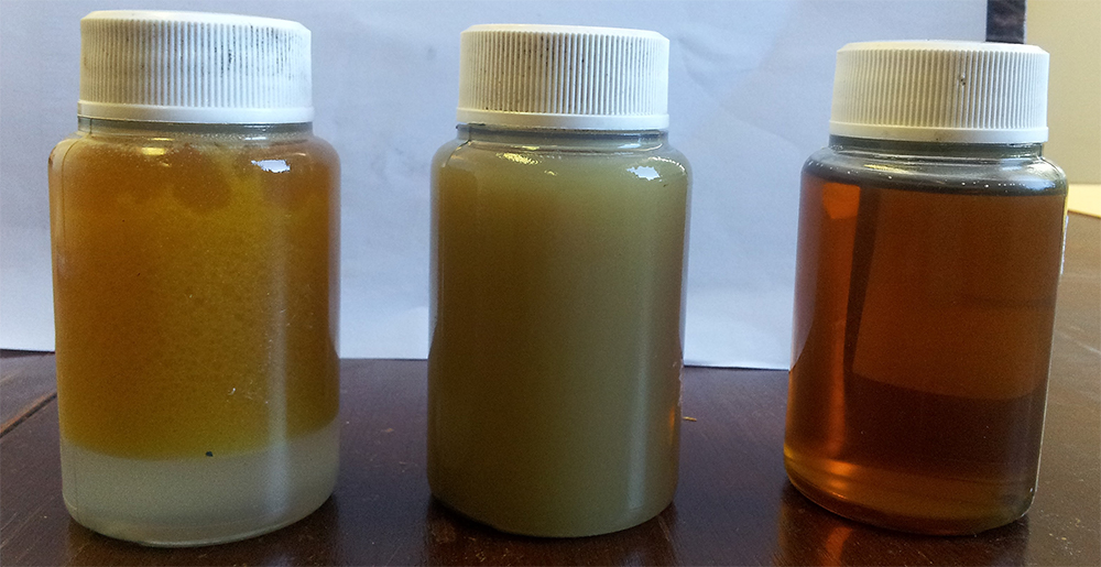 Oil Contamination Samples